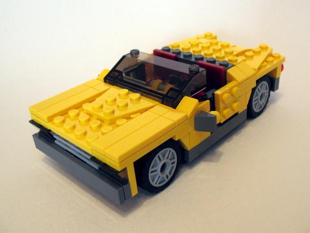 Lego Moc 1536 4939 Cadillac Creator 2014 Rebrickable Build