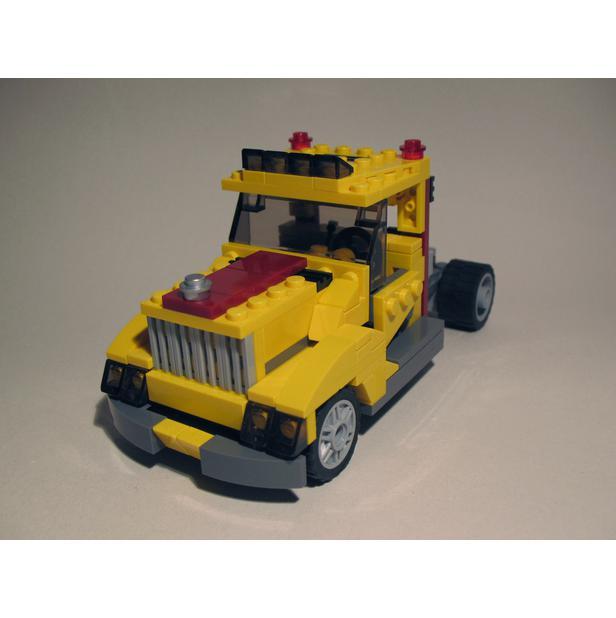 Lego Moc 1504 4939 Truck Ii Technic 2014 Rebrickable Build