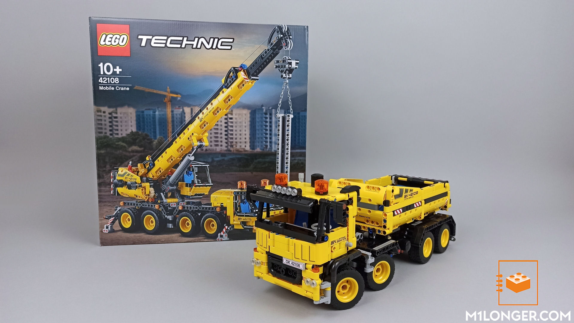 Lego Moc 42108 Roll Off Truck By M Longer Rebrickable Build With Lego