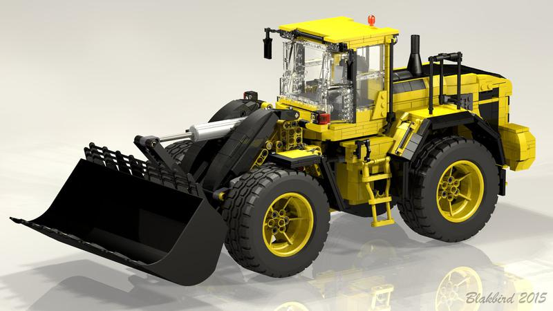 Mlongers Lego Creations Instructions For Volvo L250g