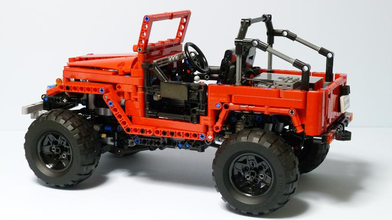 lego toyota fj40 instructions