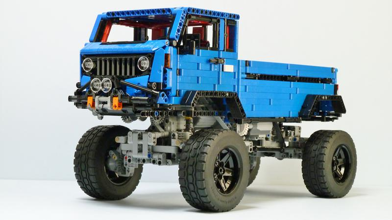 moc jeep mighty fc concept lego technic and model team. Black Bedroom Furniture Sets. Home Design Ideas