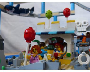 Lego Moc Shipwreck Island Rollercoaster By Marius0151 Rebrickable Build With Lego