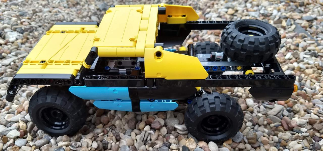 Mini Trophy Truck >> Mini Trophy Truck Lego Technic And Model Team Eurobricks Forums
