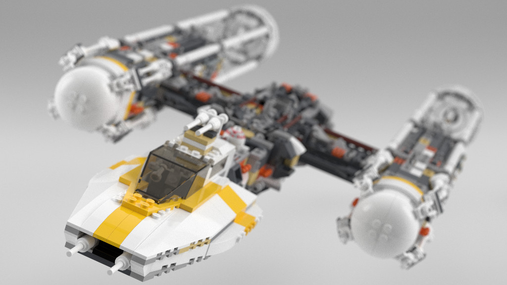 MOD] 10134 UCS Y-Wing refresh - LEGO Star Wars - Eurobricks Forums