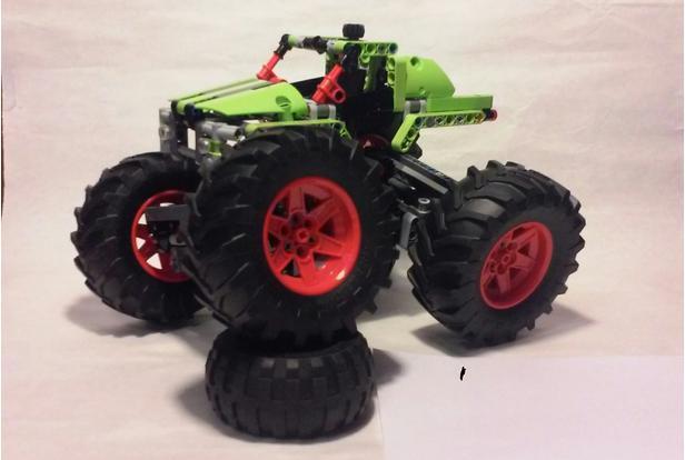 Lego Moc 6356 42054 C Model Monster Truck Technic 2017