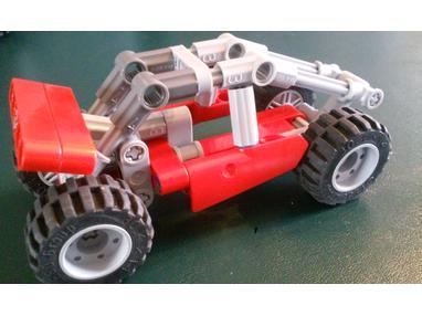 LEGO MOC-7438 Mini Sandrail (Technic 2017) | Rebrickable - Build