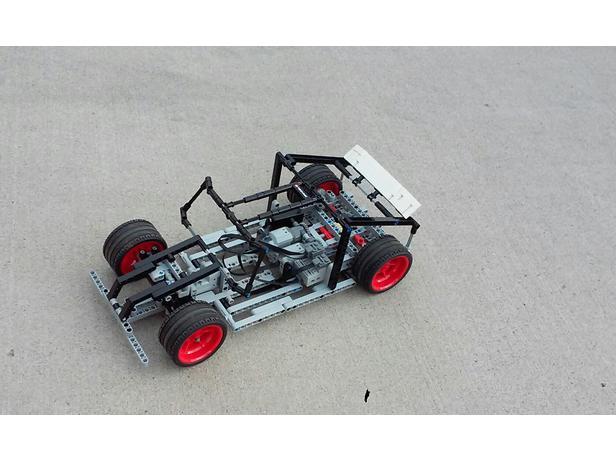 Lego Moc 6874 Skeleton Xl Technic 2017 Rebrickable Build With Lego