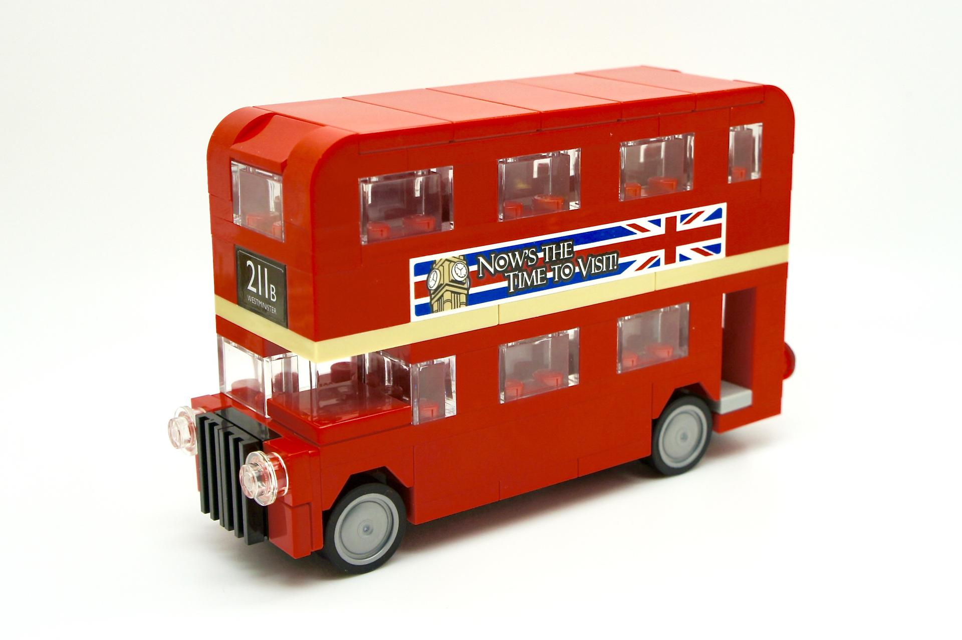 lego london bus instructions