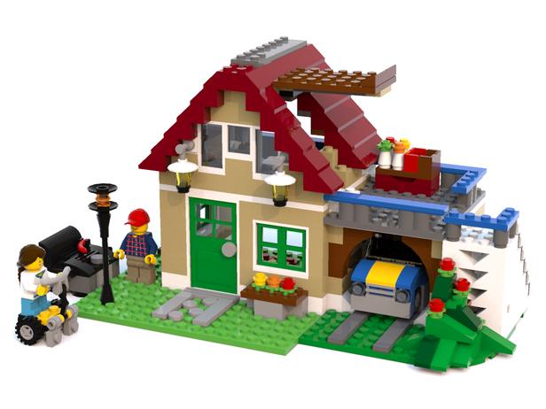 Lego Moc 3623 31038 Changing Home Creator 2015 Rebrickable