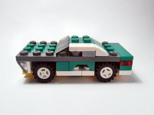 Lego Moc 2245 6910 Muscle Car V2 Creator 2014 Rebrickable