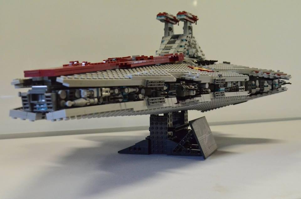 Custom Ucs Lego Star Wars Venator Class Star Destroyer Bricksafe