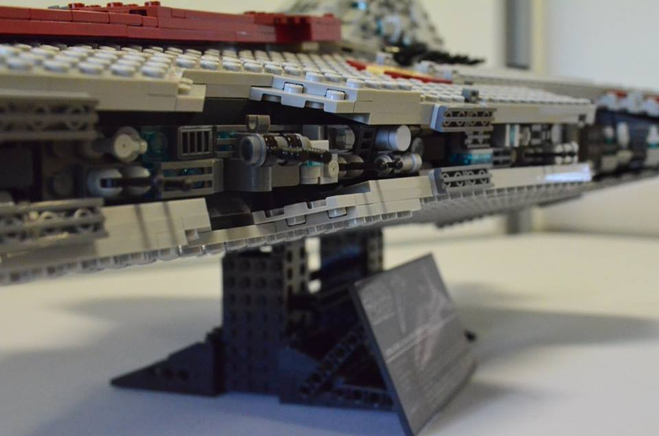 Custom Ucs Lego Star Wars Venator Class Star Destroyer Bricksafe