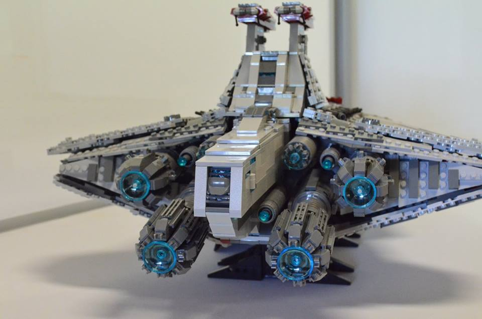 Custom UCS Lego Star Wars Venator-Class Star Destroyer