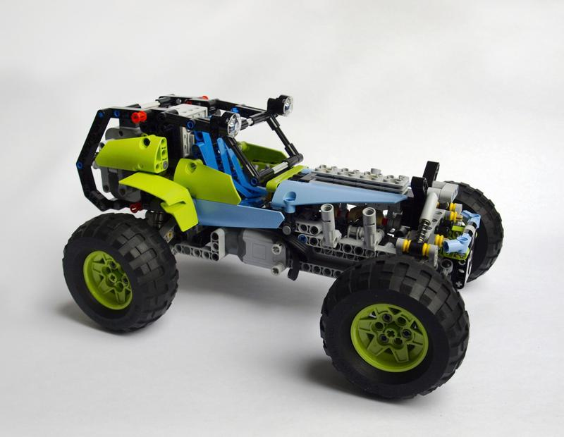 mod formula off roader 42037 rc with sbrick lego. Black Bedroom Furniture Sets. Home Design Ideas