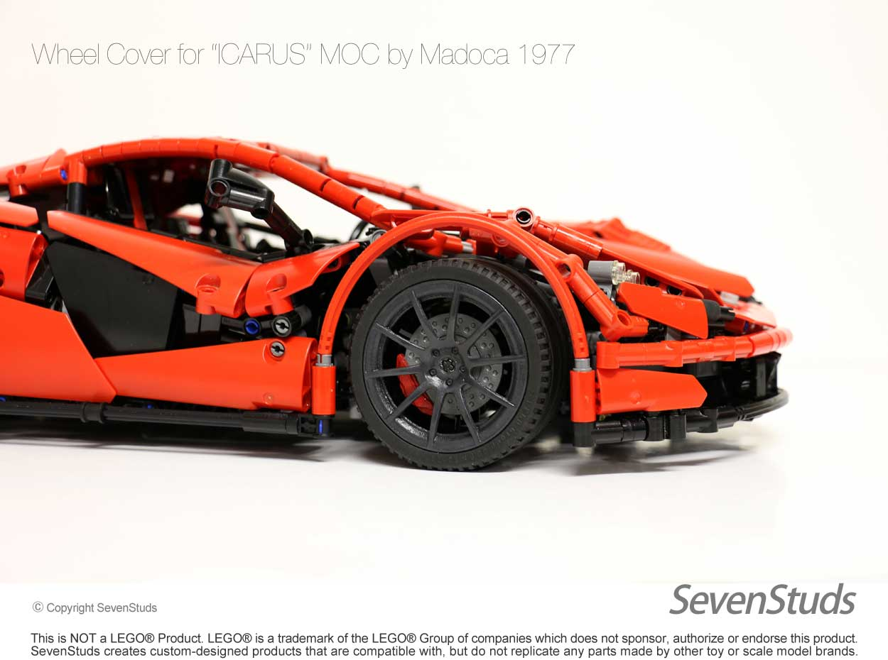 Custom Wheel Covers for the ICARUS by Madoca - Bricksafe