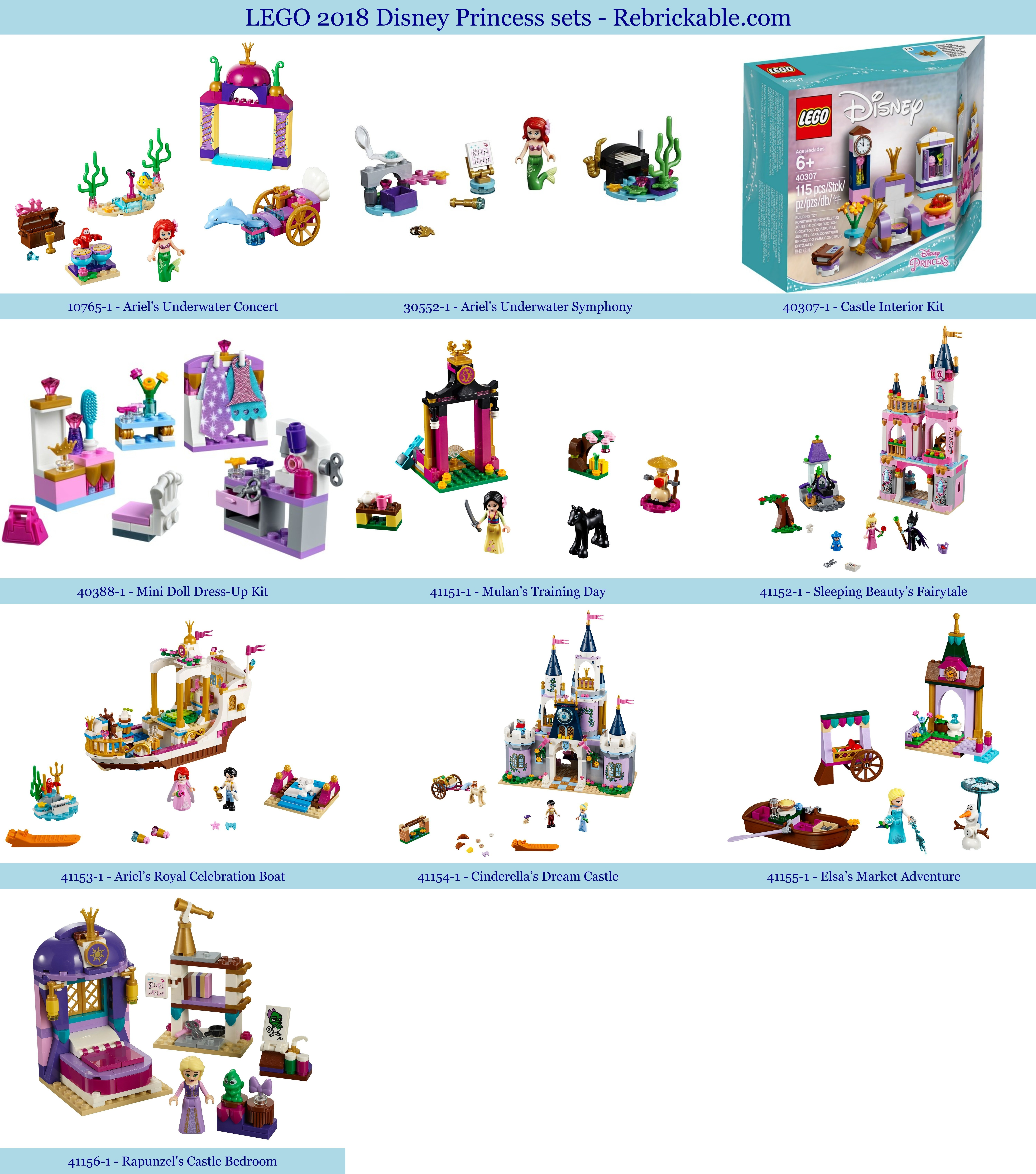 New 2018 LEGO Sets | Rebrickable - Build with LEGO