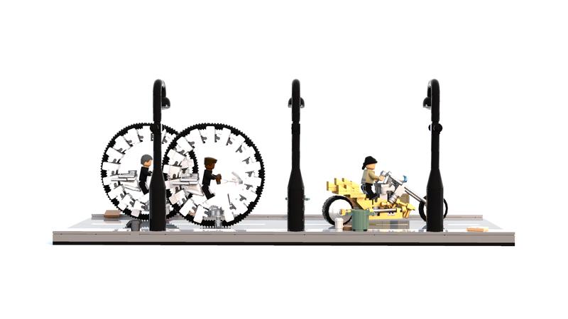 Lego Moc 7303 Men In Black 3 Other 2017 Rebrickable