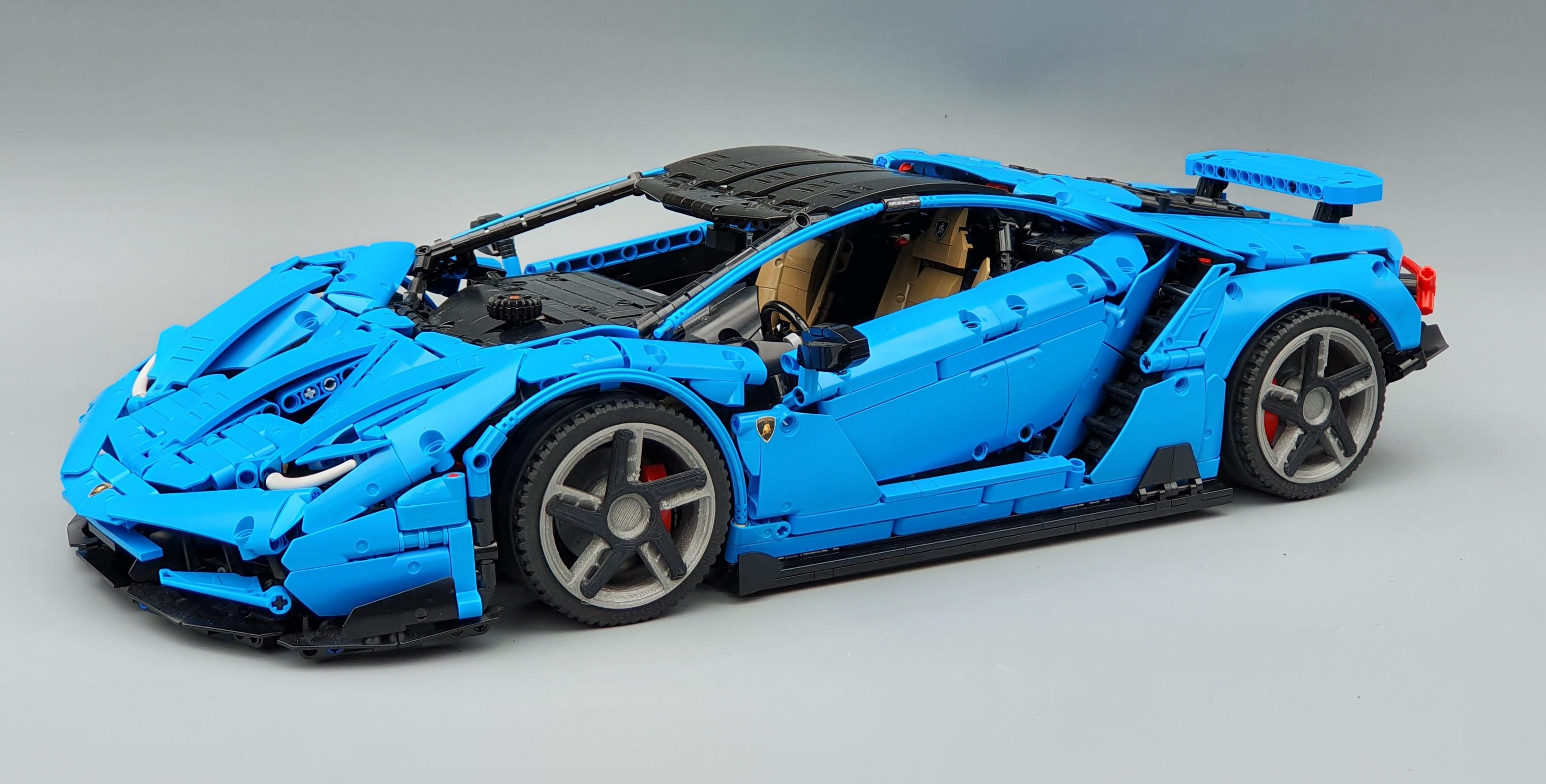 LEGO MOC Lamborghini Centenario 1:8 hypercar by T-Lego ...