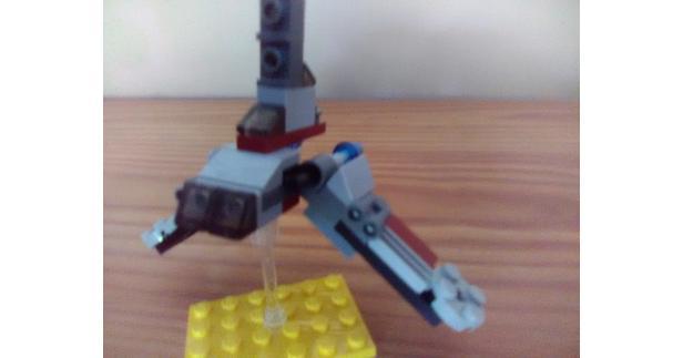 Lego Moc 8076 75028 Republic Attack Shuttle Star Wars Mini Star