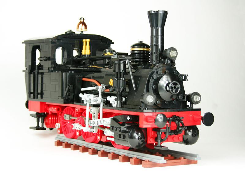 Another AFOL going large scale    (Prussian T3 0-6-0T) - LEGO Train