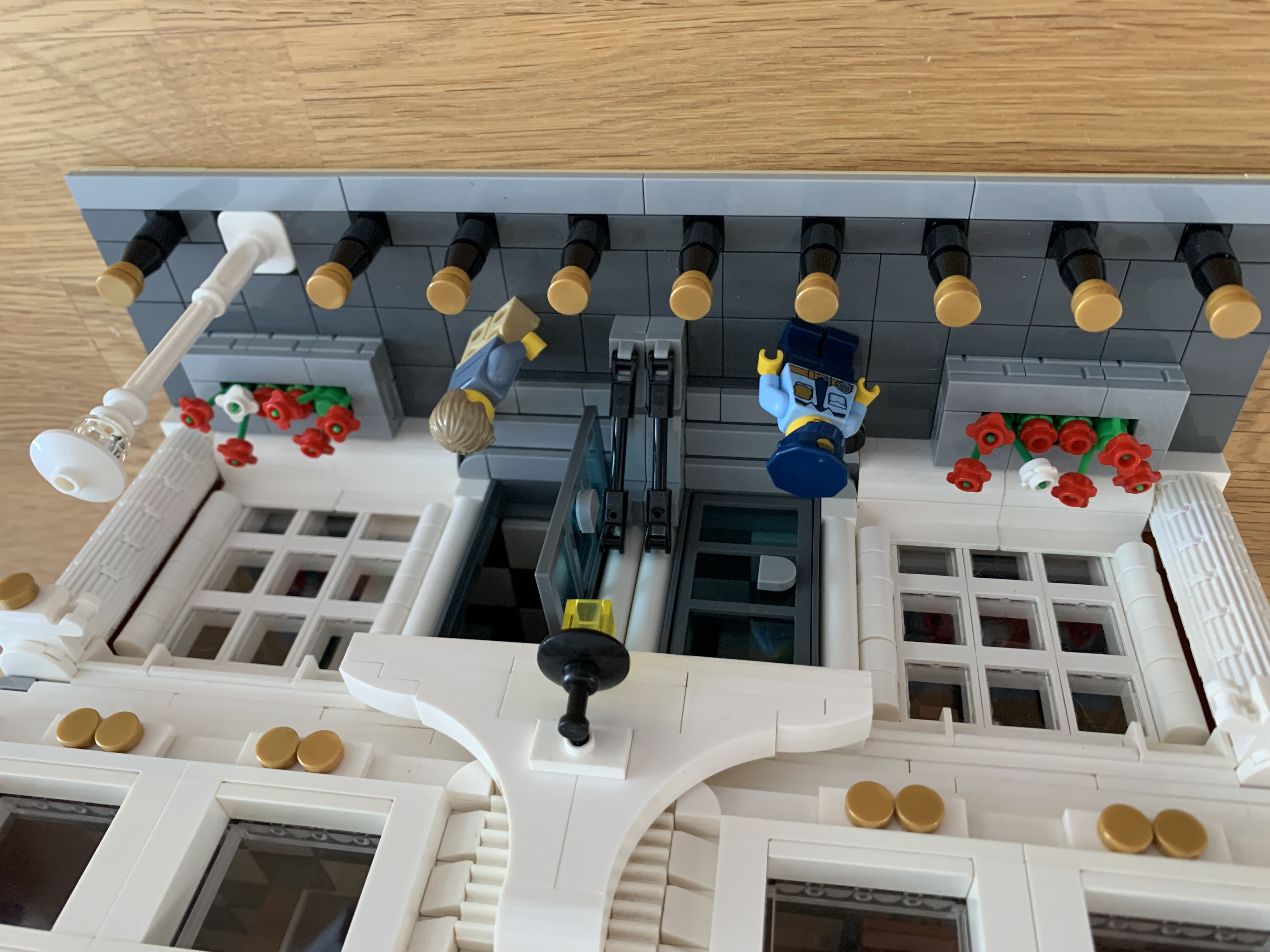 LEGO Courthouse Custom Creation Building Instructions ONLY!!