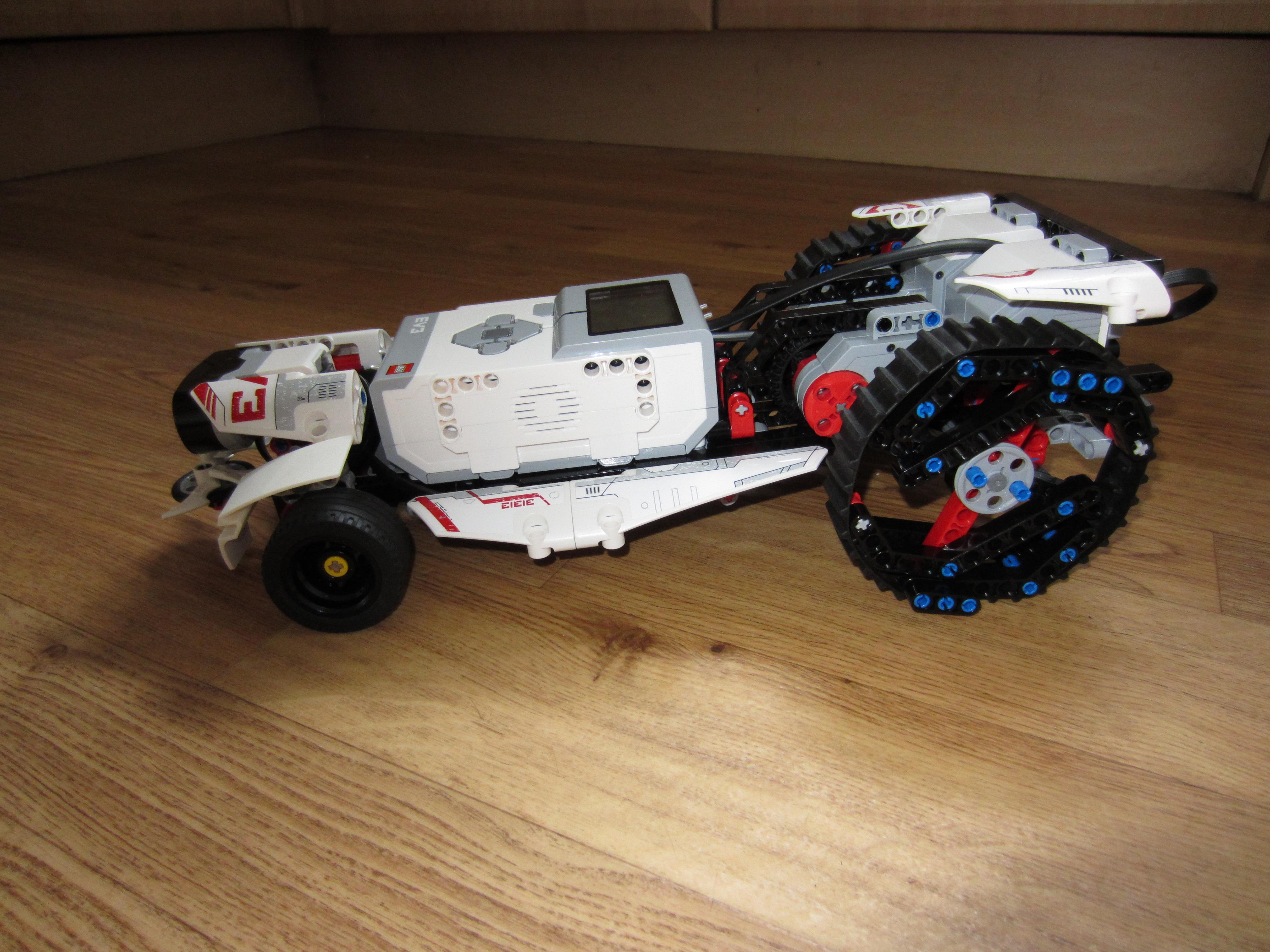 Tractor Rac3r - 31313 C-model - Bricksafe