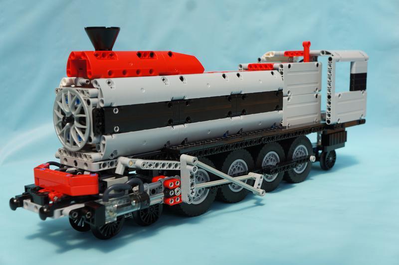 TC10] Pneumatic Locomotive - LEGO Technic, Mindstorms & Model Team ...
