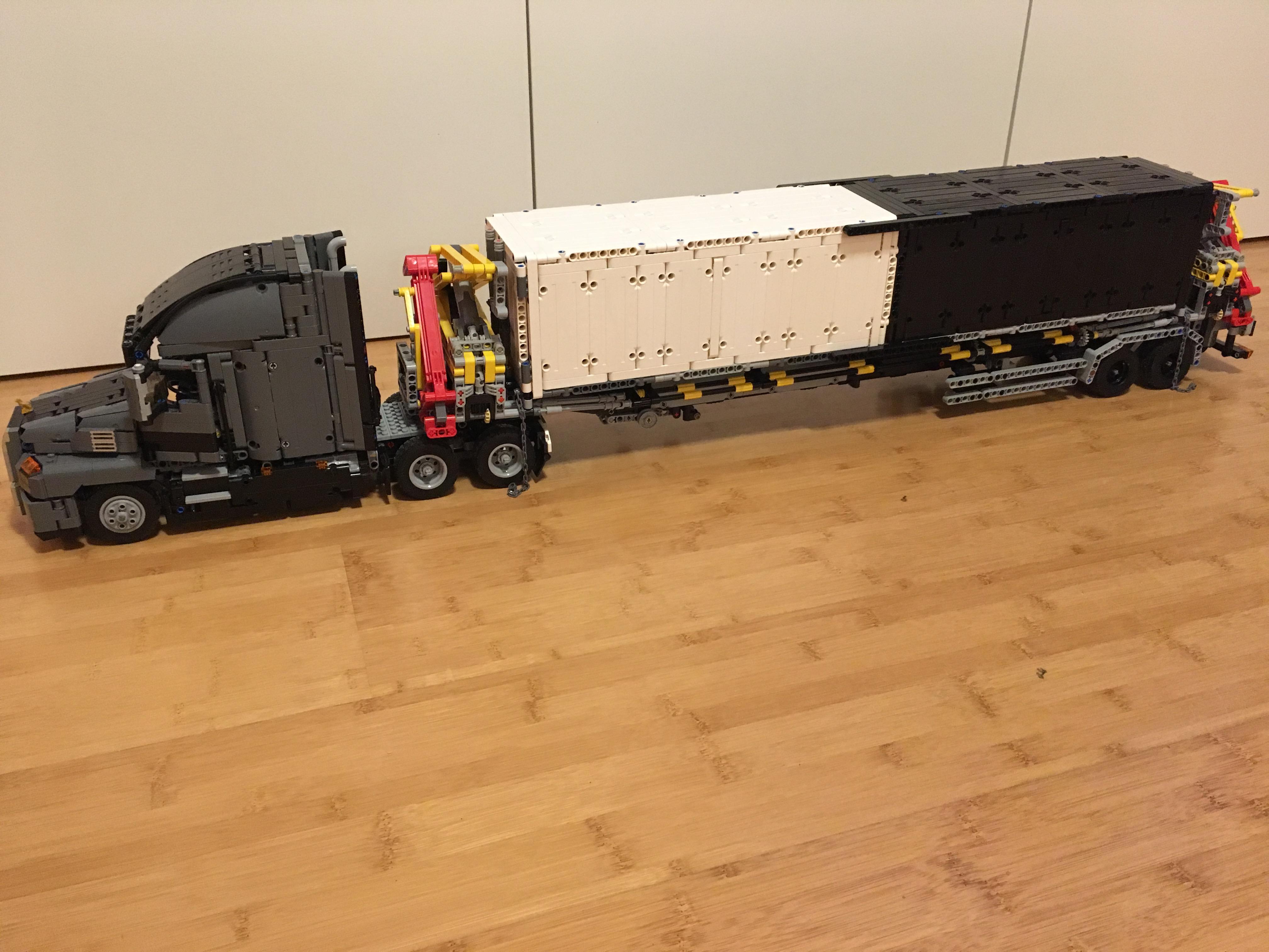lego mack truck manual