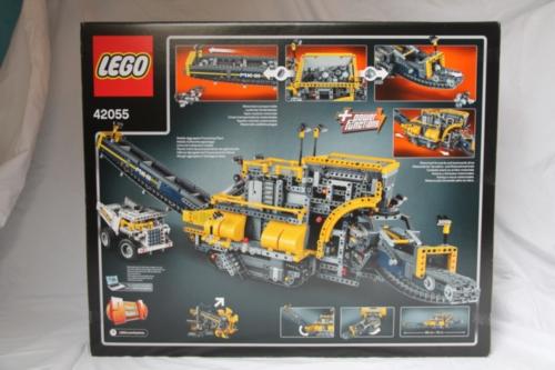 Review Lego 42055 Bucket Wheel Excavator Rebrickable Build With Lego
