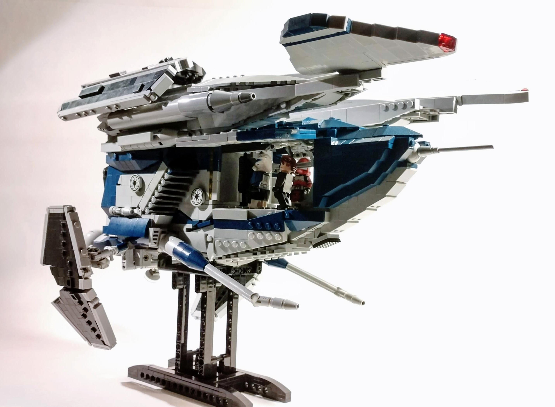 Lego Star wars UCS Police gunship moc - Bricksafe