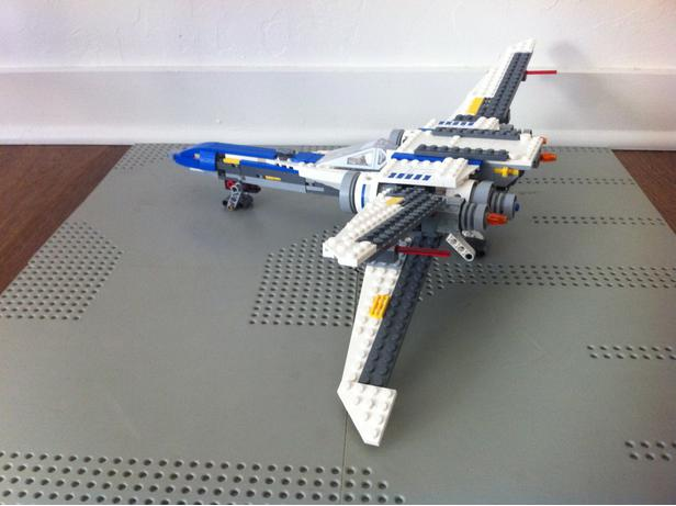 Lego Moc 11449 75155 X Wing Fighter Concept Star Wars Star Wars