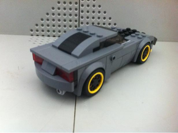 Lego Moc   Ford Gt Speed Champions  Rebrickable Build With Lego