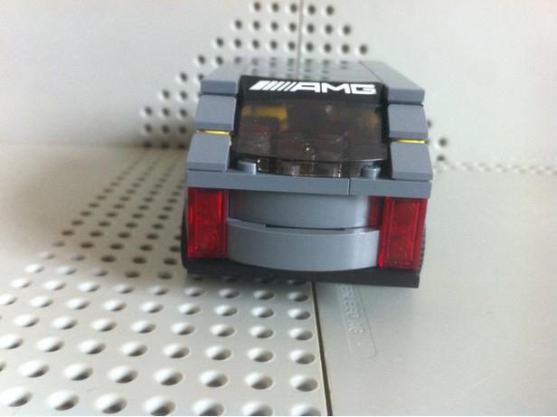 LEGO MOC-9866 75877 Land Rover Range Rover (Speed Champions 2017 ...