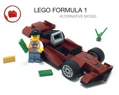 Lego Moc Lego City Police 60138 Set Formula 1 Alternative Build Instruction By Virks Rebrickable Build With Lego