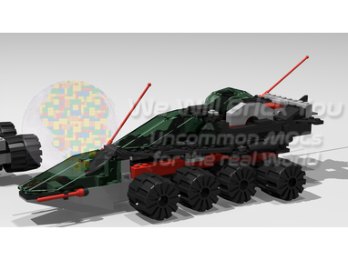 LEGO MOC-9761 Fast Solar Snooper (6957-1 Alternate) (Space