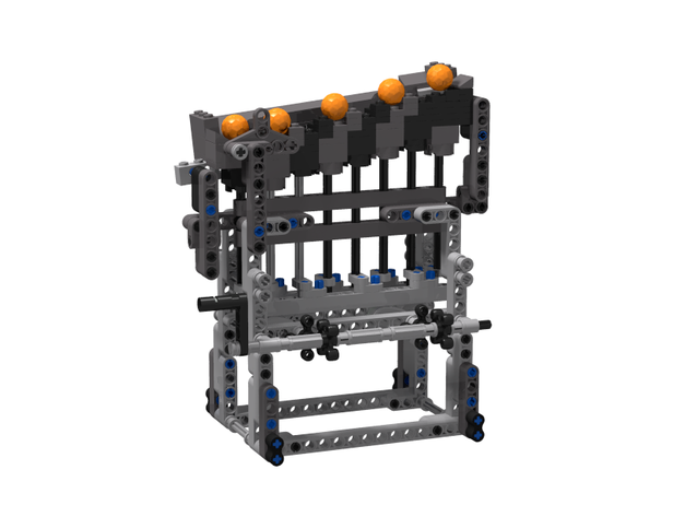 Lego Moc 6698 Pocket Great Ball Contraption Technic 2017