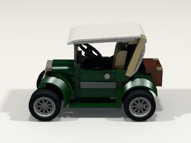 Lego Moc 5877 Classic Car Cars 2016 Rebrickable Build With Lego