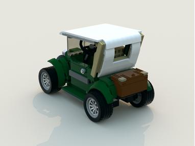 LEGO MOC-5877 Classic car (Cars 2016) | Rebrickable - Build