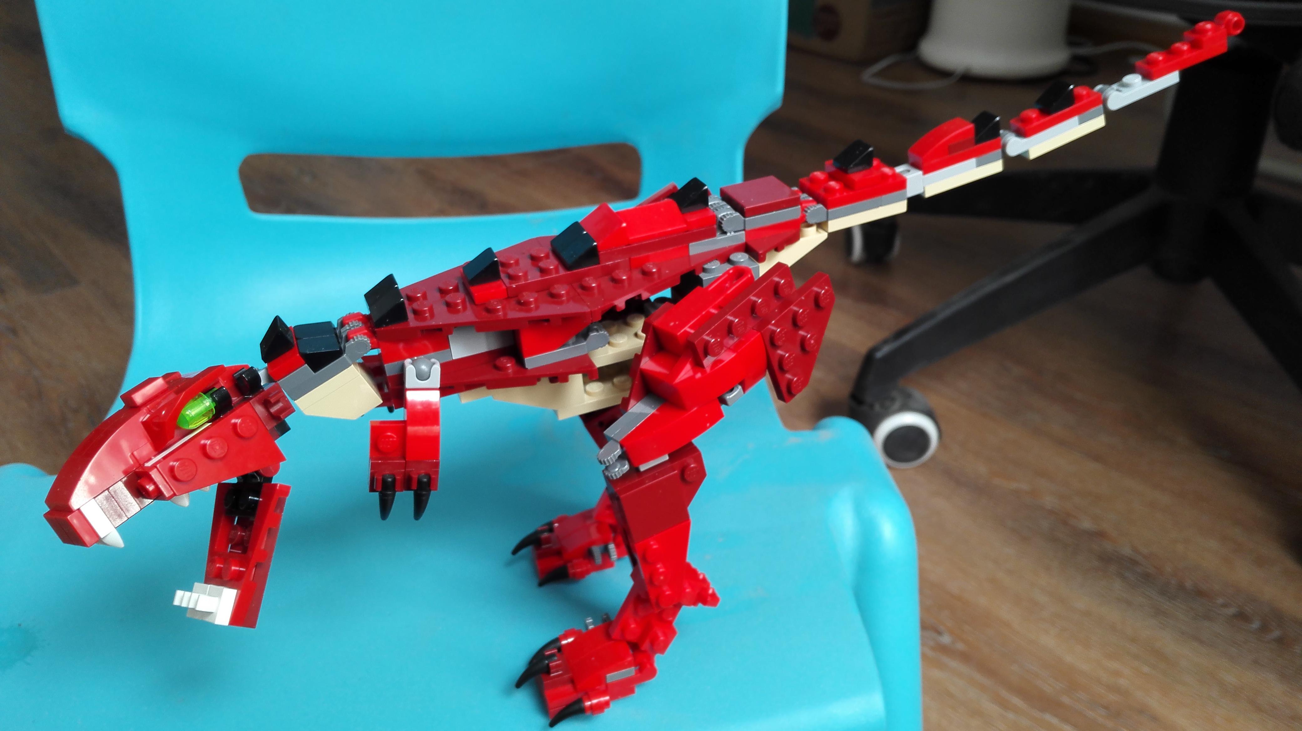T Rex Alternative Build Of 31032 And Instructions Bricksafe
