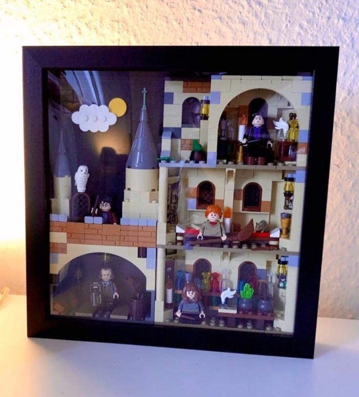 Lego Moc 37493 Harry Potter In Photo Frame Harry Potter