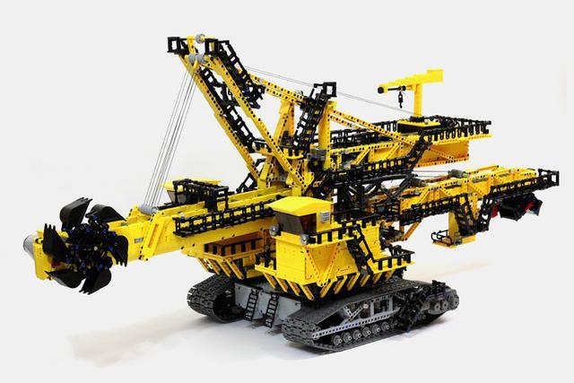 lego technic 42055 instructions