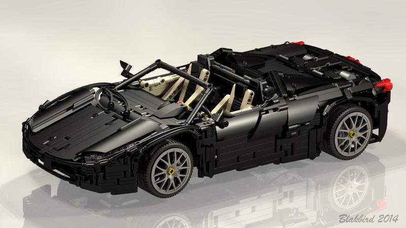 Ferrari 458 Spider Bricksafe