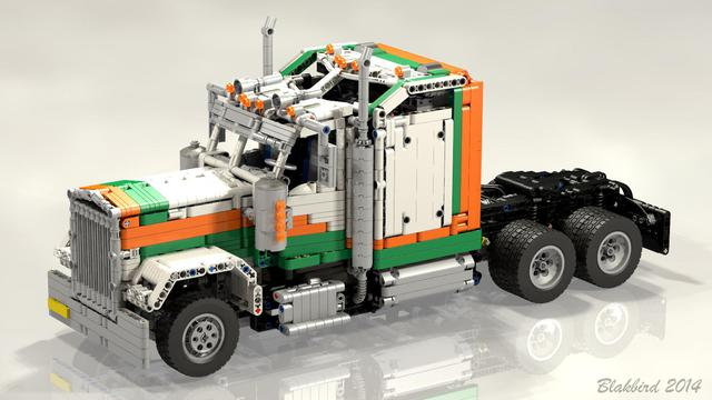 MOC REVIEW Kenworth W900 by Jurgen Krooshoop - LEGO ...