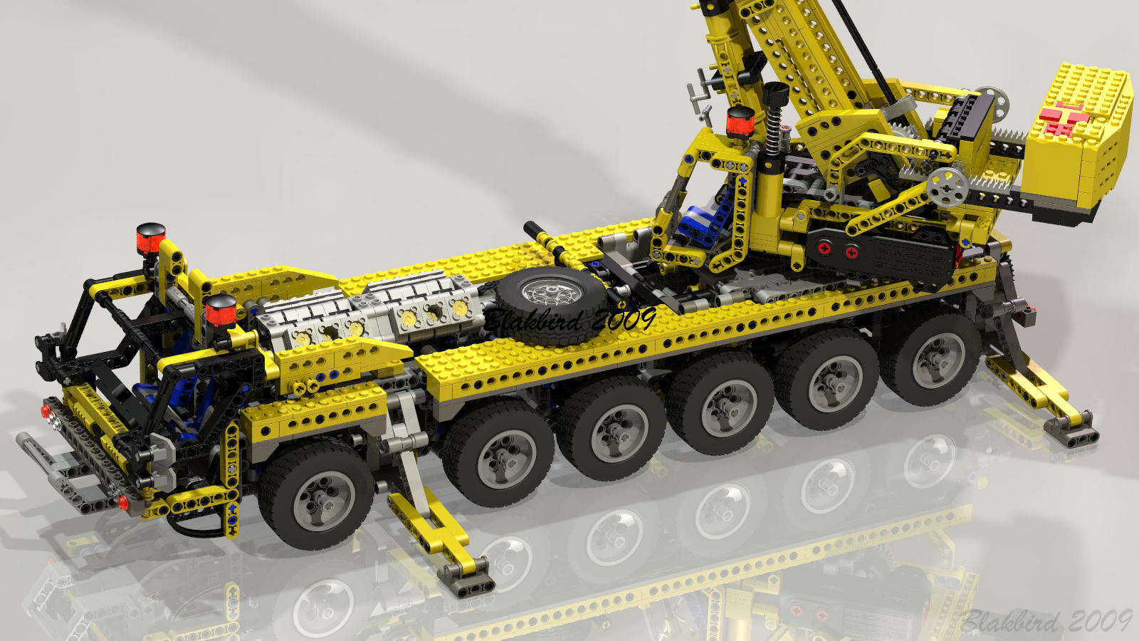 BrickLink - Set 8421-1 : Lego Mobile Crane [Technic:Model ...