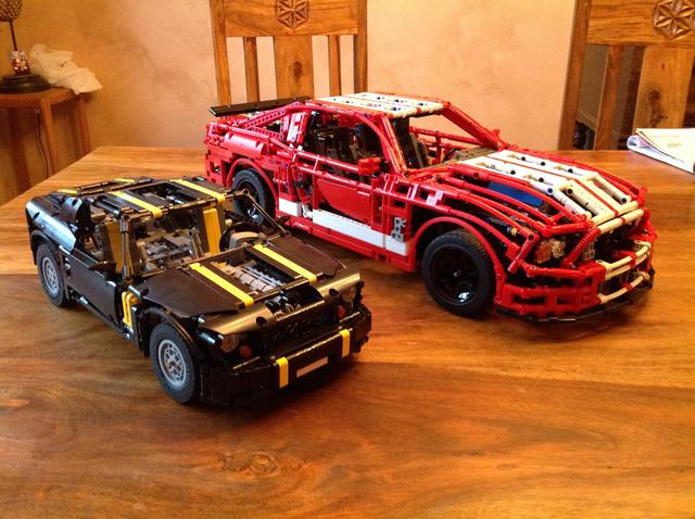 ford mustang shelby gt500 page 5 lego technic. Black Bedroom Furniture Sets. Home Design Ideas