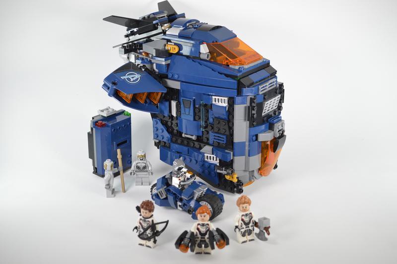 LEGO MOC Avengers Speeder by dorianbricktron | Rebrickable ...