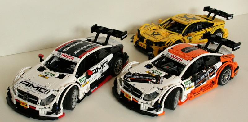 Moc Mercedes Benz Amg C63 Dtm Manual And Rc In 110 Scale Lego