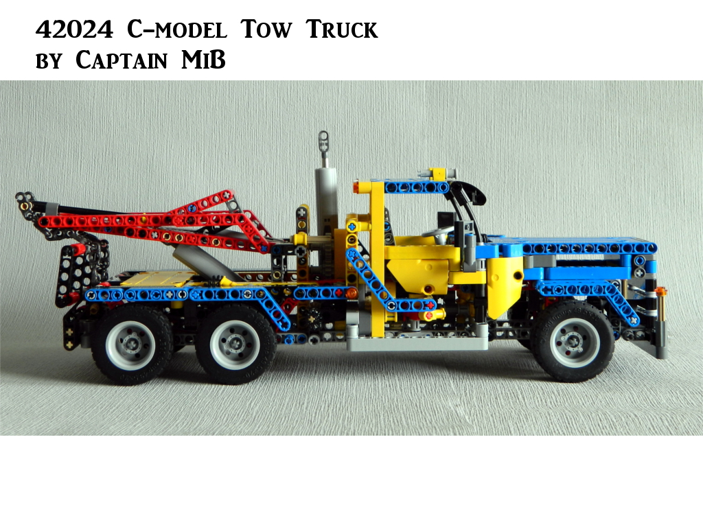 42024 C Model Tow Truck Bricksafe