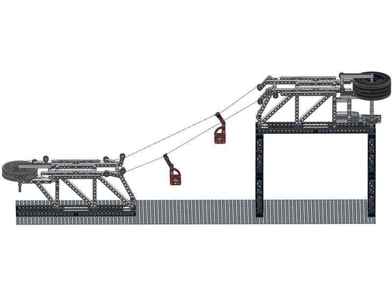 Advice for my ski lift? - LEGO Technic and Model Team